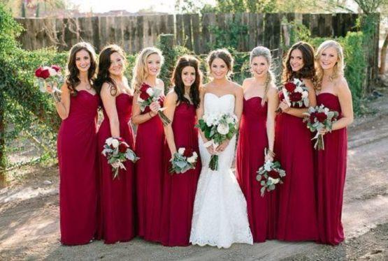 Vestidos para madrinhas de casamento iguais